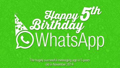 Photo of Happy Birthday WhatsApp [#Infographic]