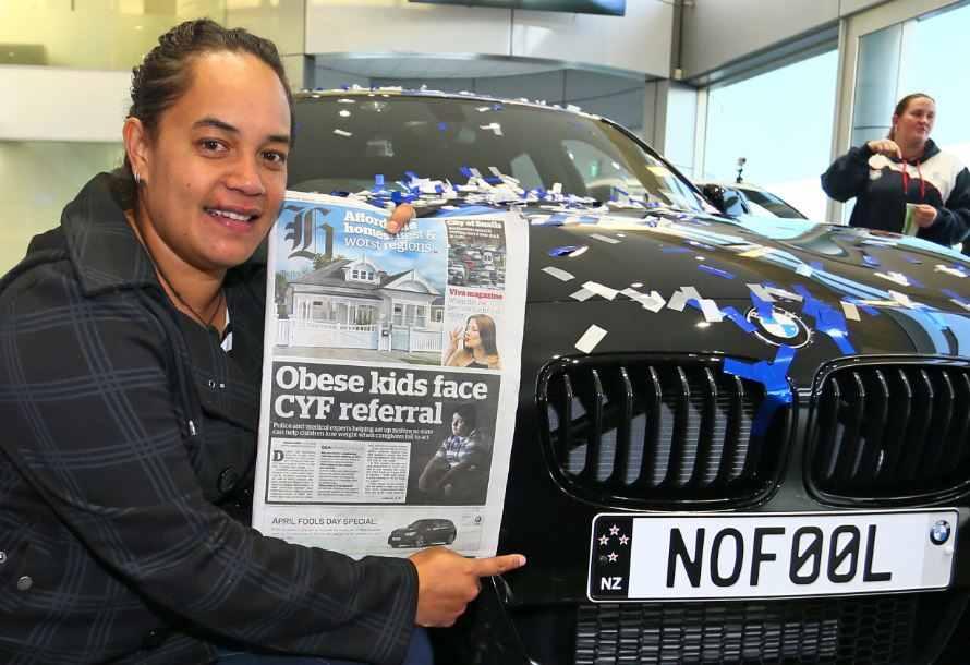 BMW Introduce World-first Reverse April Fool's Day Joke